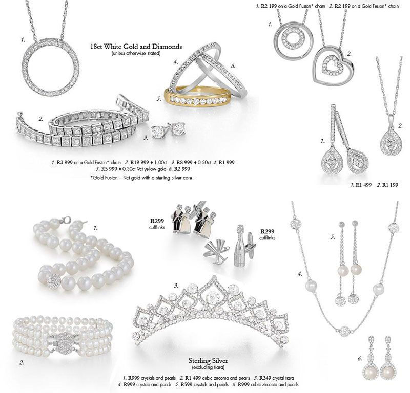 Bridal Jewellery from Sterns | South African Wedding Ideas ...