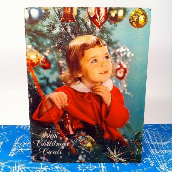 1968 christmas cards salesman sample book catalog by vintagebaron 12 00