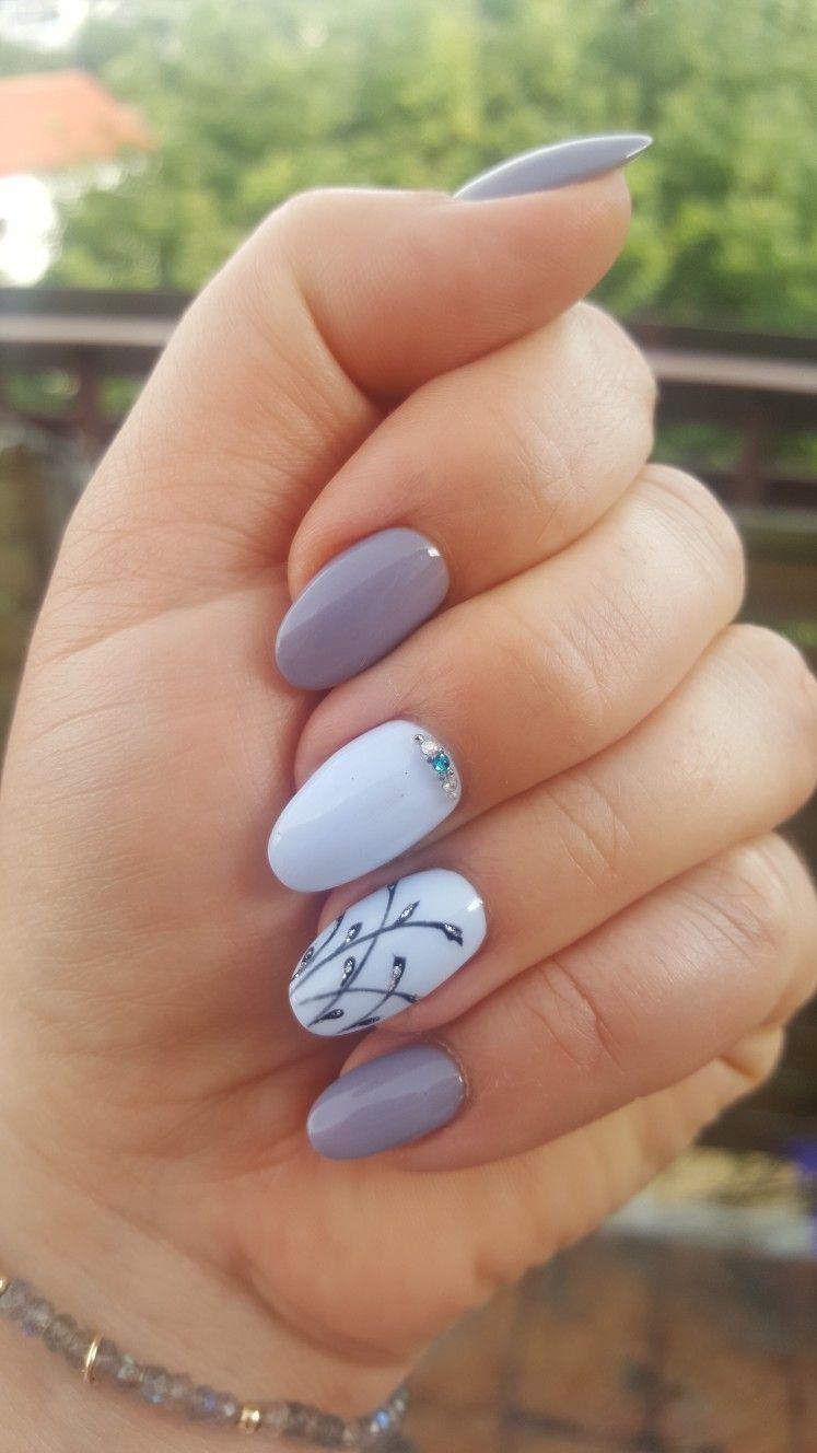 Wiosenny Manicure 2 Ladne Paznokcie Paznokcie Sztuka Malowania