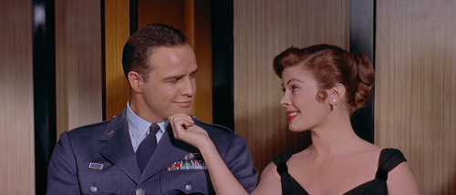 "maria-greeksoul: ""  Marlon Brando as Major Gruver Sayonara (1957) """