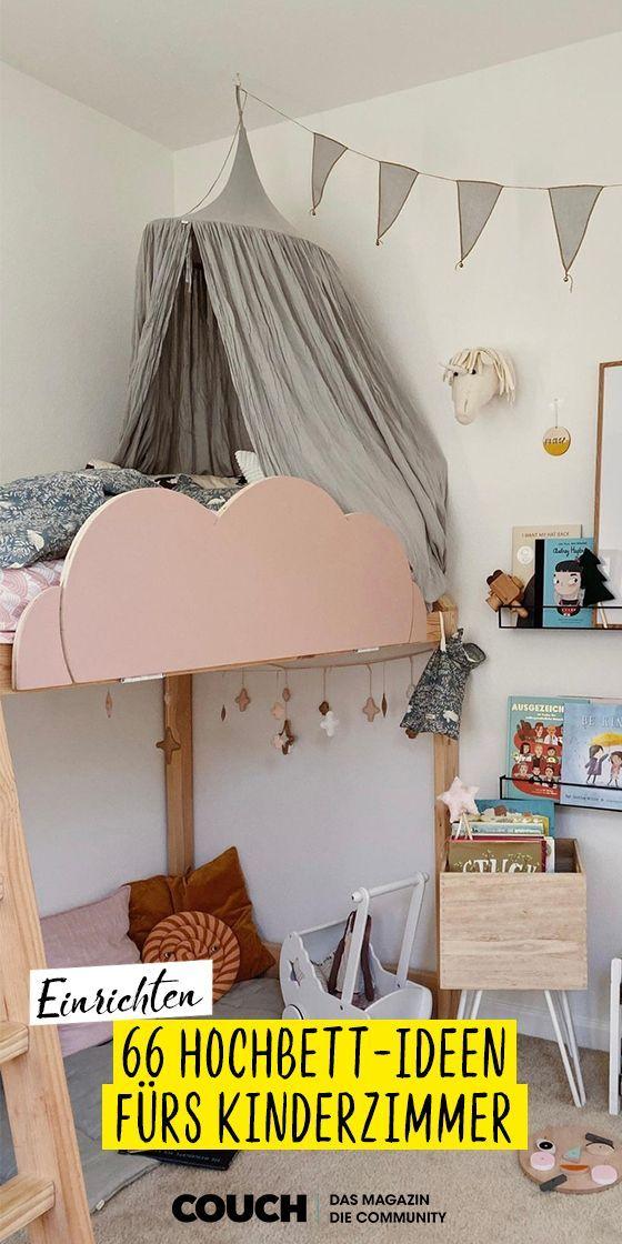 Hochbett-Ideen fürs Kinderzimmer