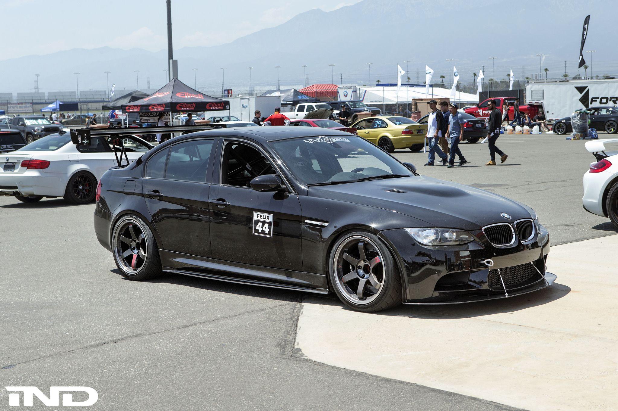 BMW E90 M3 Sedan BimmerFest 2k16 iND Tuning Black Pearl