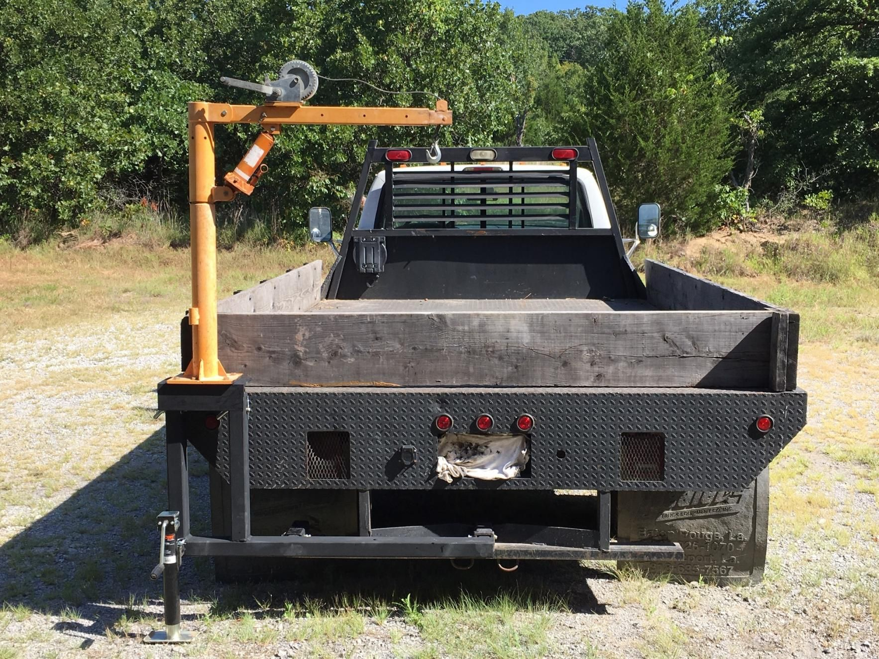 Harbor Freight Jib Crane Mounts Truck And Shop By Viny So I