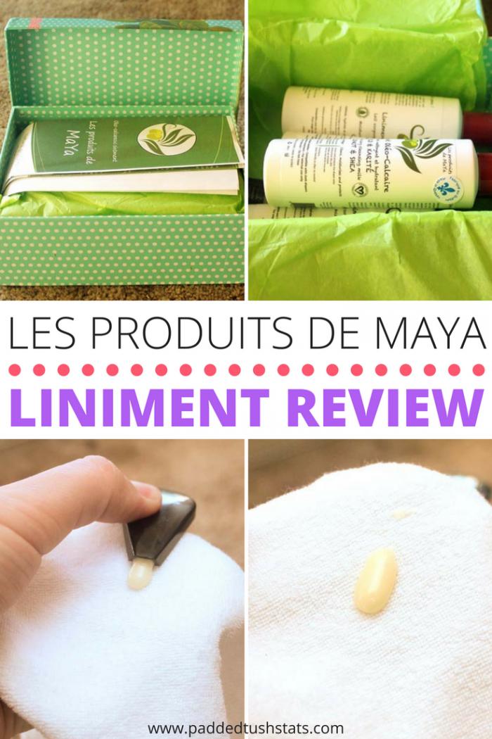 Les Produits De MaYa Liniment Review Cloth baby wipes