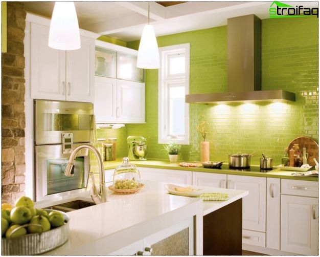Diseño de la cocina 10 metros cuadrados - 50 Ideas de cocina de ...