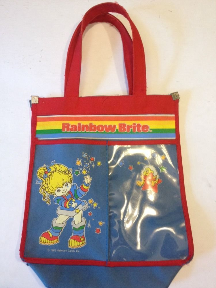 158c2c9ff Rainbow Brite Tote Bag Vintage cartoon 80s colorful purse toy stars bright  #ClothingAccessories Vintage Cartoon