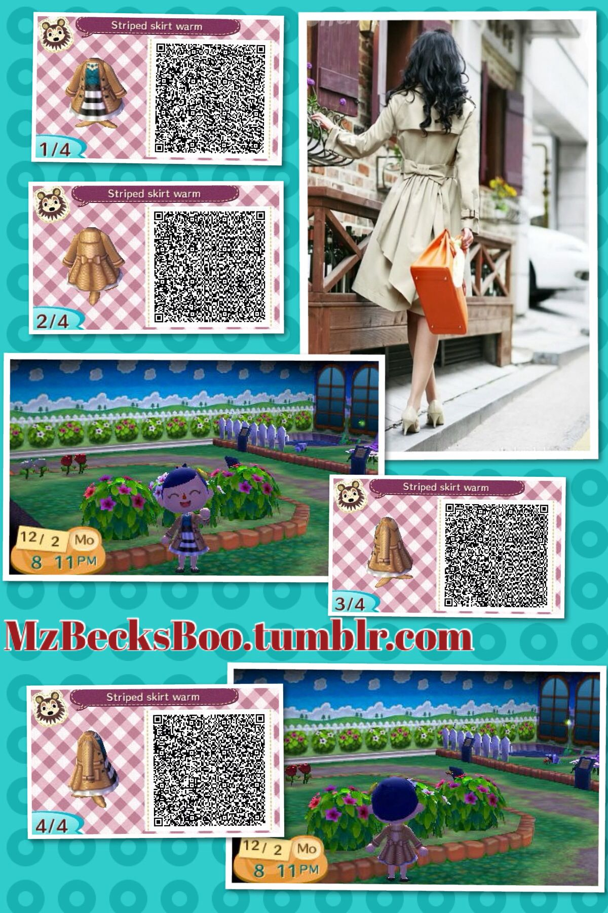 Leather jacket qr code new leaf - Find This Pin And More On New Leaf Fashions Made By Me