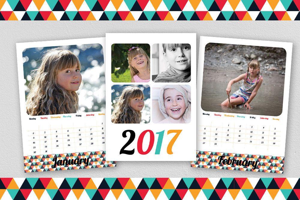 Custom 2017 Calendar / Printable Calendar 2017 / Photo Calendar