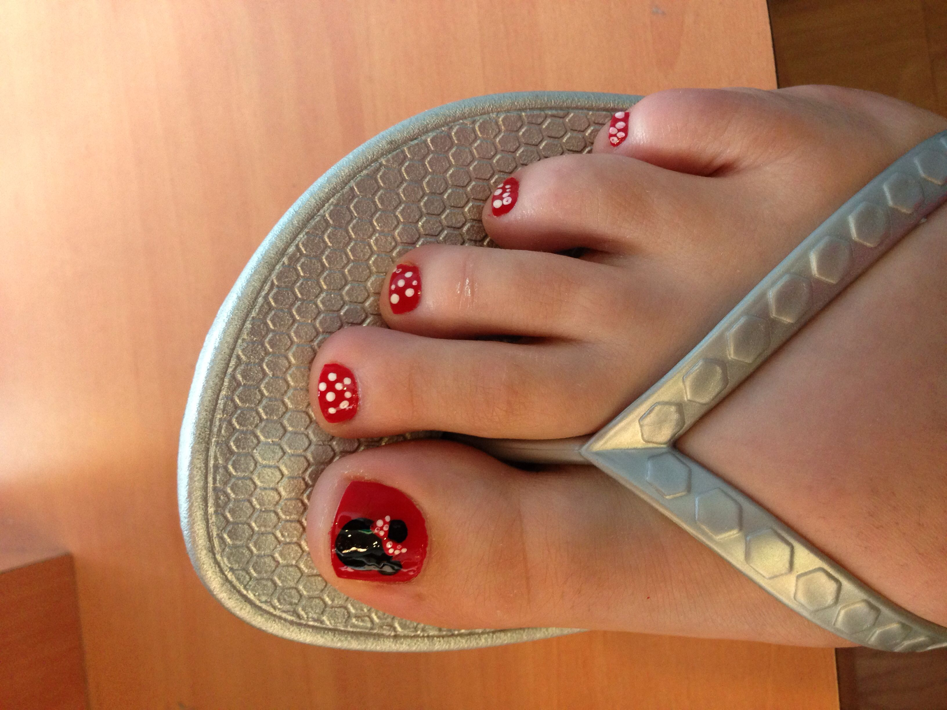 Disney pedicure