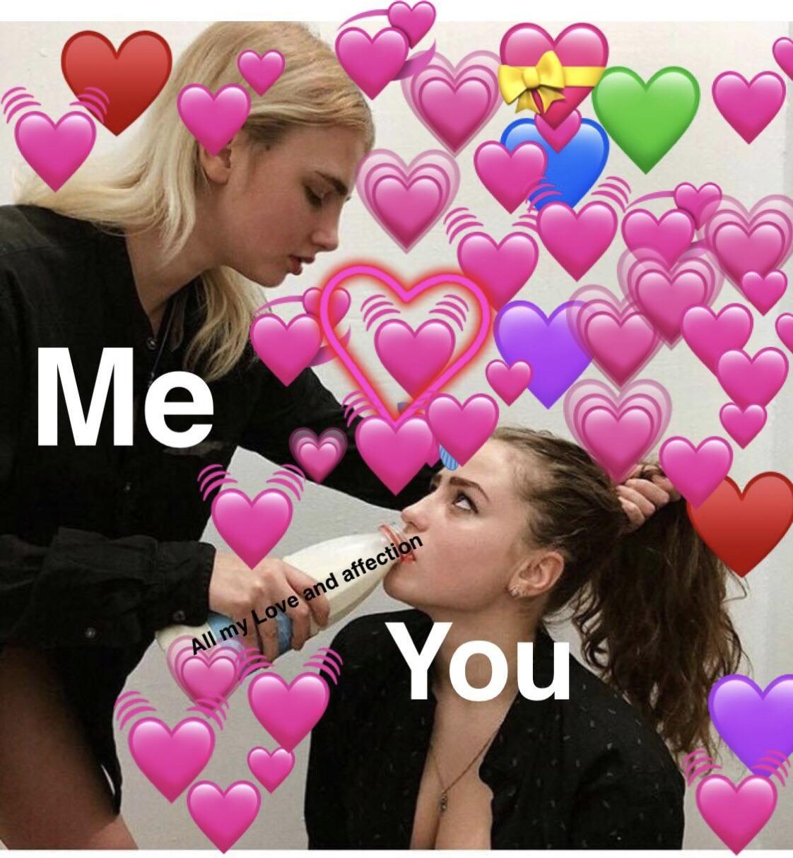 Pin By Couple Goals On Purple Goals Affection Memes Heart Meme