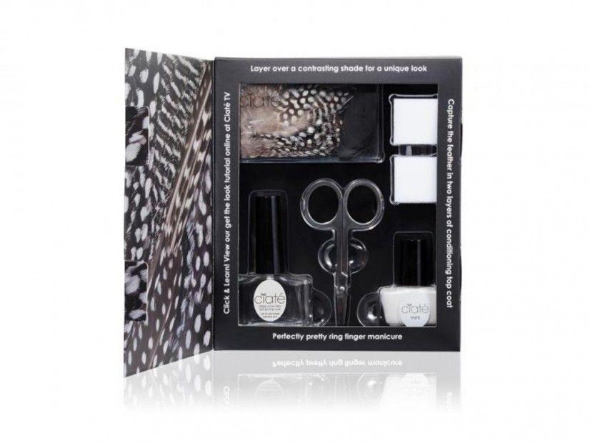 Kit « Feathered Manicure », Ciaté