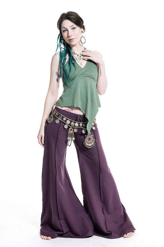 HIPPIE FLOW PANTS, psy trance trousers, extra wide flares, hippy flare pants,  dance trousers, pixie clothing, goa t… | Hippie flare pants, Hippie wear,  Pixie outfit