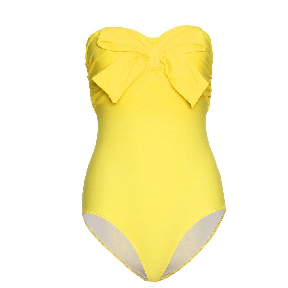 83d8dce410d mytheresa.com - Miu Miu - BANDEAU BATHING SUIT - Luxury Fashion for Women