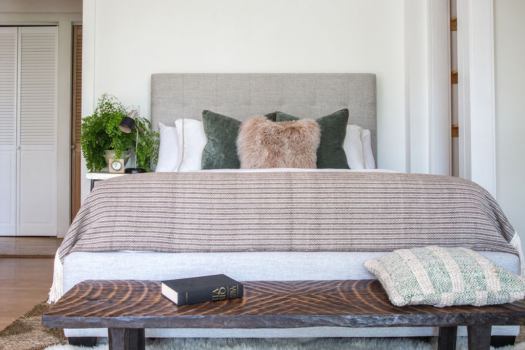 Staged for real estate, styled by Daniella Southgate