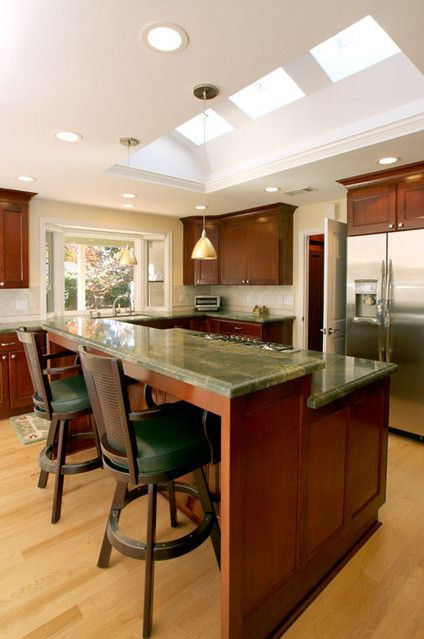 Luxury Kitchen Countertops Breakfast Bar