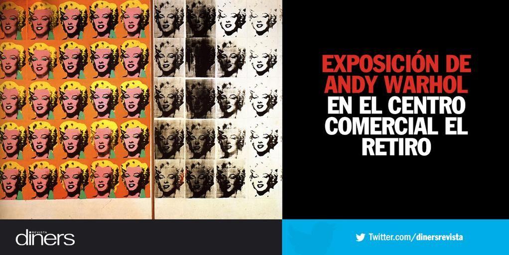 Andy Warhol llega a Bogotá con su trabajo más representativo. → http://bit.ly/1E11mRm