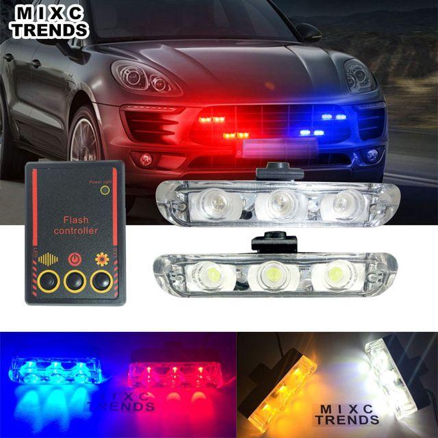 MIXC TRENDS Best Quality 2x3 Led Strobe Ambulance Police
