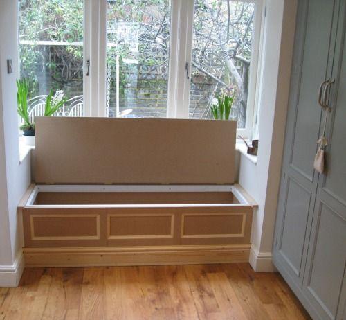 Storage Bench Under Bay Window: Klapp-tooli Saab Edukalt Kasutada Kingade Hoidmiseks, Või