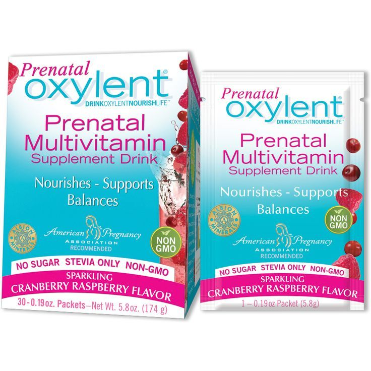 prenatal oxylent  30 day supply  vitamin drinks