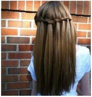 Peinados Nina Faciles Rapidos Hair Styles Waterfall Hairstyle Long Hair Styles