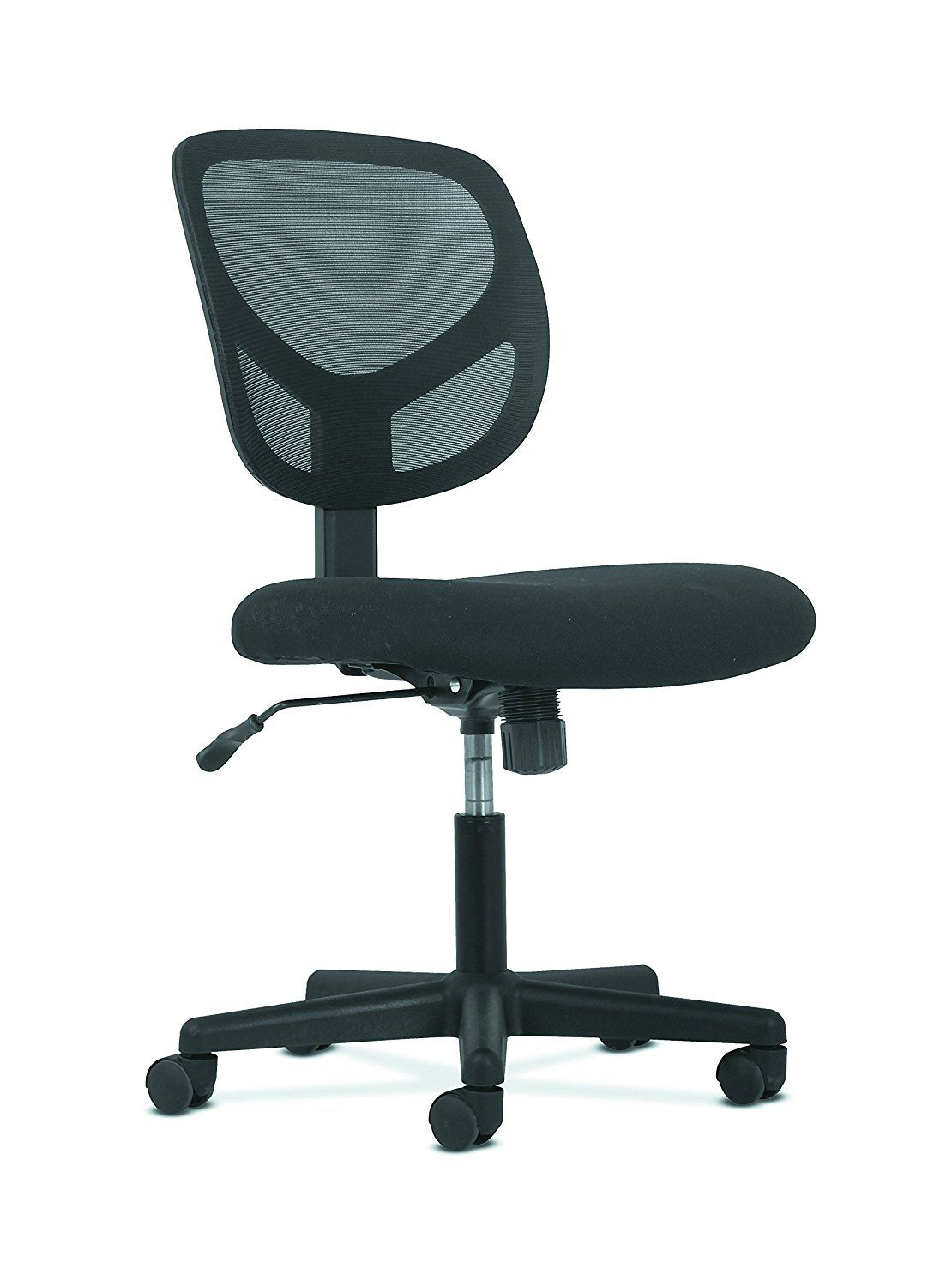 Amazon Com Hon Sadie Swivel Mid Back Mesh Task Chair Without Arms Ergonomic Computer Office Chair Hvst101 Kitchen Office Chair Task Chair Mesh Task Chair