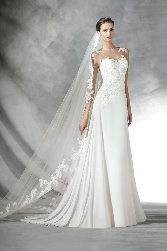 Pronovias | Bridal collection, Pronovias wedding dresses and Wedding ...