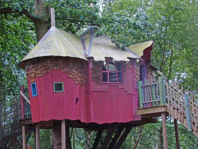 Luxury Tree House Plans