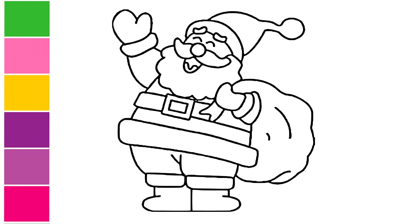 drawing of santa claus how to draw santa claus christmas drawing tutorial for kids drawing tutorials for kids how to draw santa christmas drawing drawing of santa claus how to draw