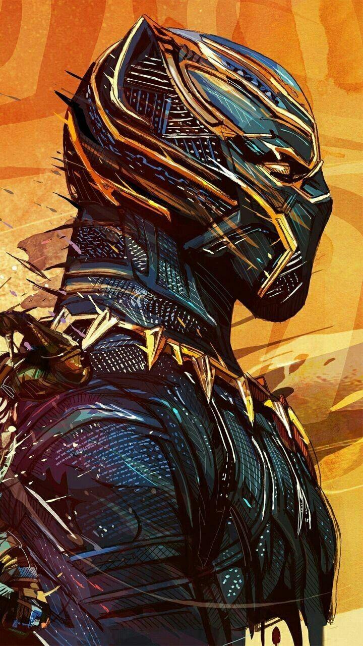 San Holo adlı kullanıcının Marvel panosundaki Pin Siyah