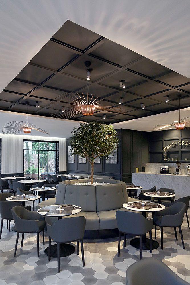 Design dintérieur décoration restaurant