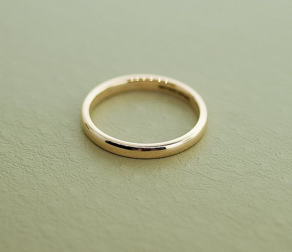 Superb Antique Tiffany u Co k Yellow Gold Wedding Band By SITFineJewelry