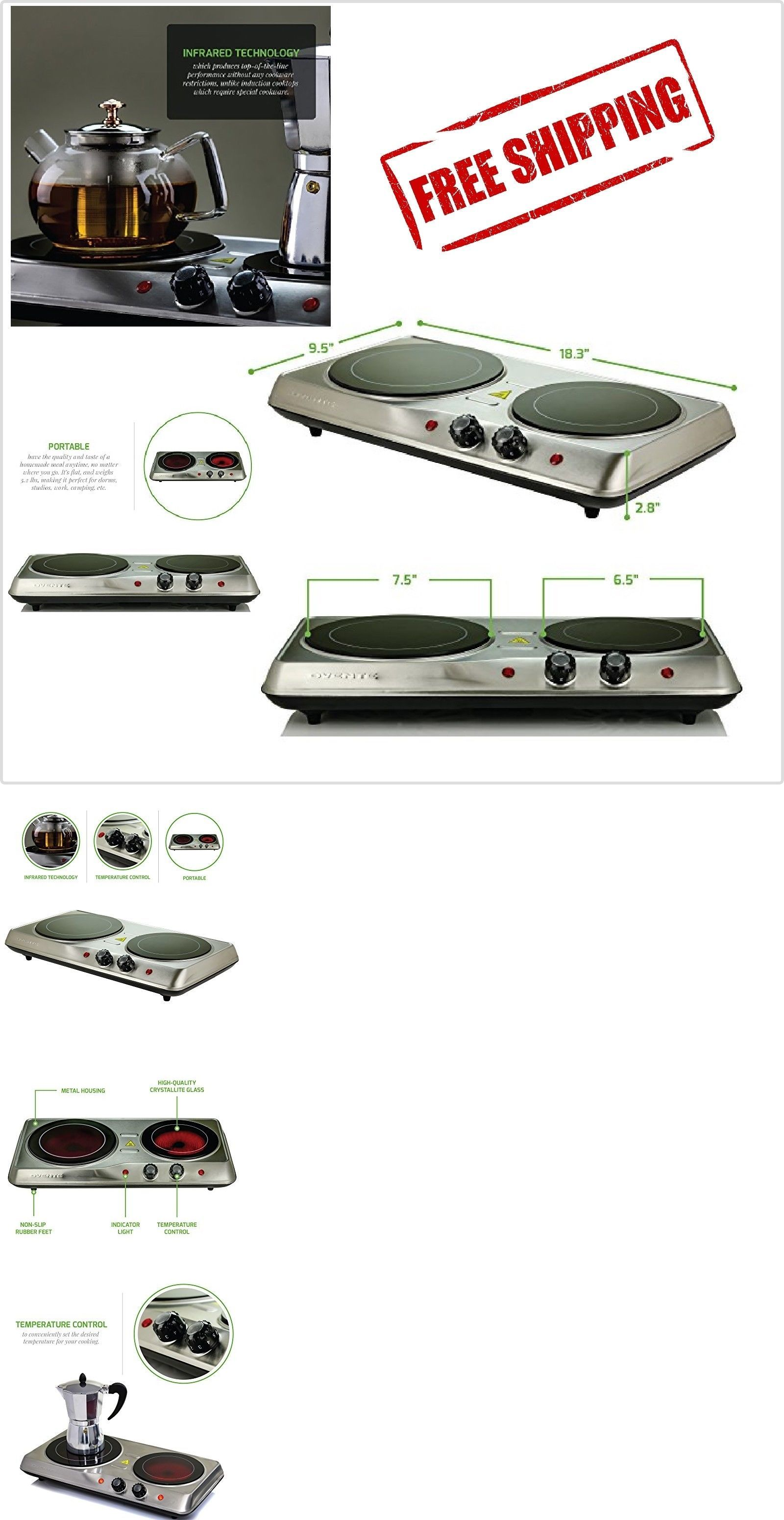 Burners and Hot Plates 177751: Electric Cooktop Burner