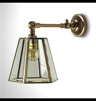 lux hexagonal lantern style wall light guest bedroom pinterest