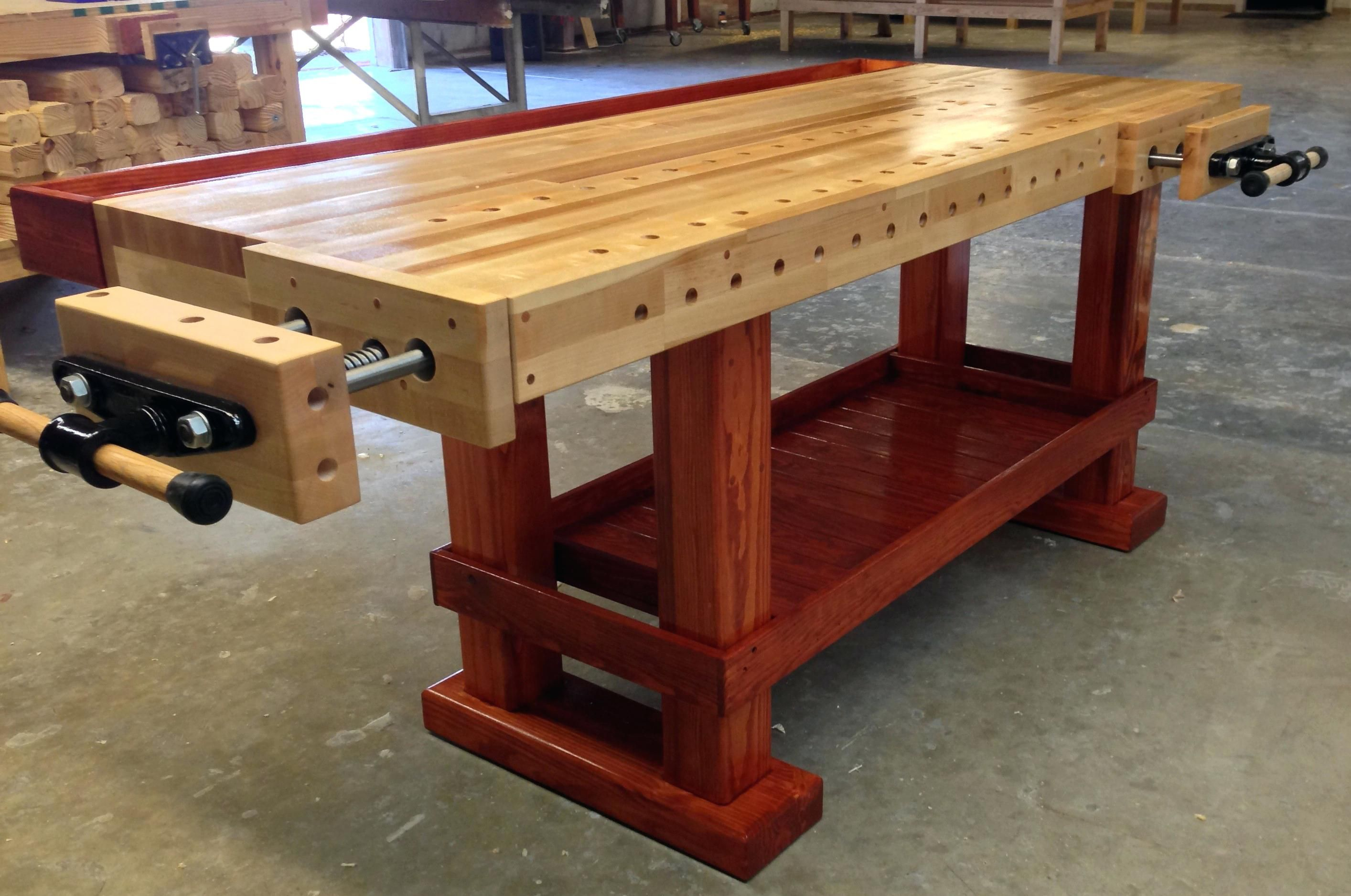 laminated maple workbench top woodworking bench made in the original revere workbenches for sale perth