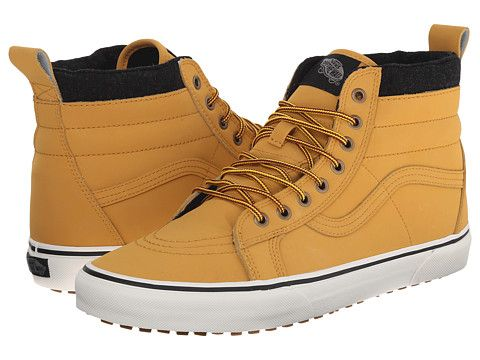 a47cdf7196b7f3 Vans SK8-Hi MTE (MTE) Honey Leather - Zappos.com Free Shipping BOTH Ways   80.00