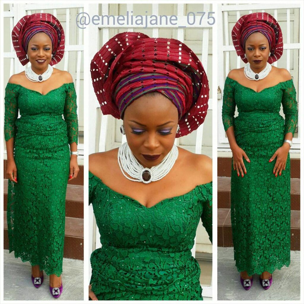 Nigerian wedding aso ebi styles for ladieszangozone