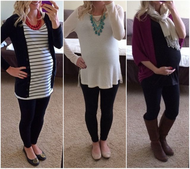 Image result for casual leggings outfit for pregnant