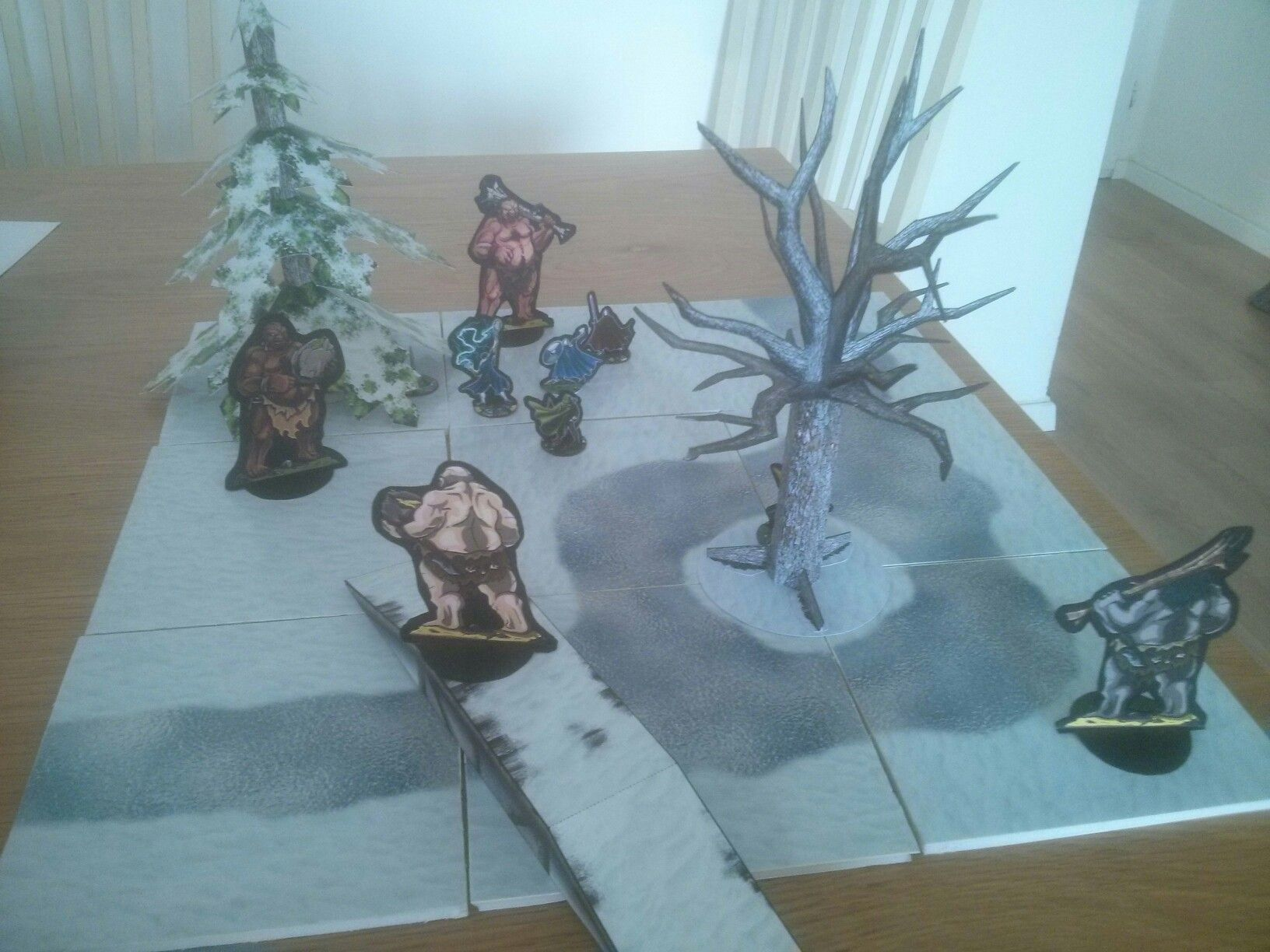 Winter adventures - Fat Dragon Games   Miniature terrain