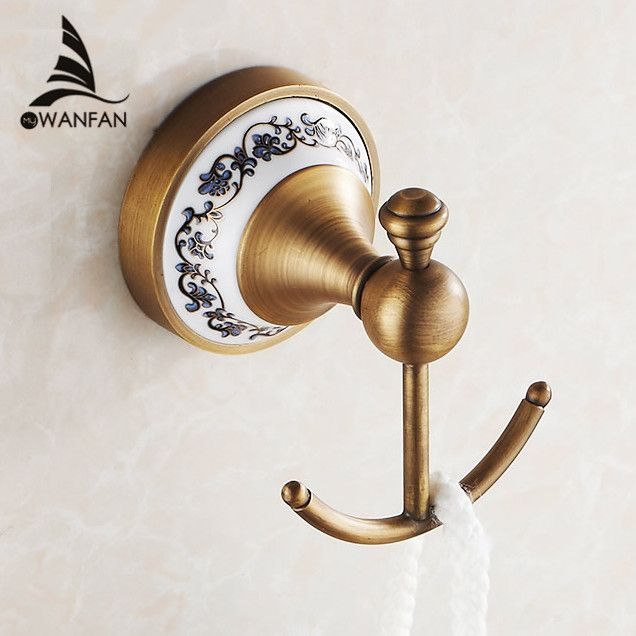 Hot SellingBathroom Accessories European Antique Bronze Ceramic - Antique bronze bathroom fixtures