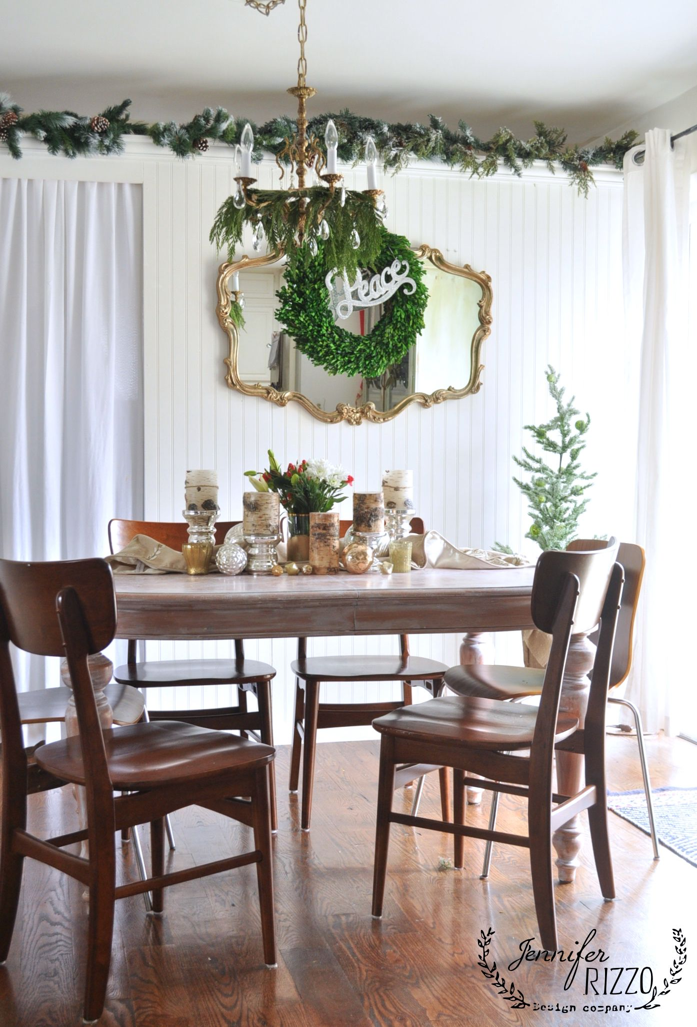 Wel e to my 2016 decorated holiday home tour