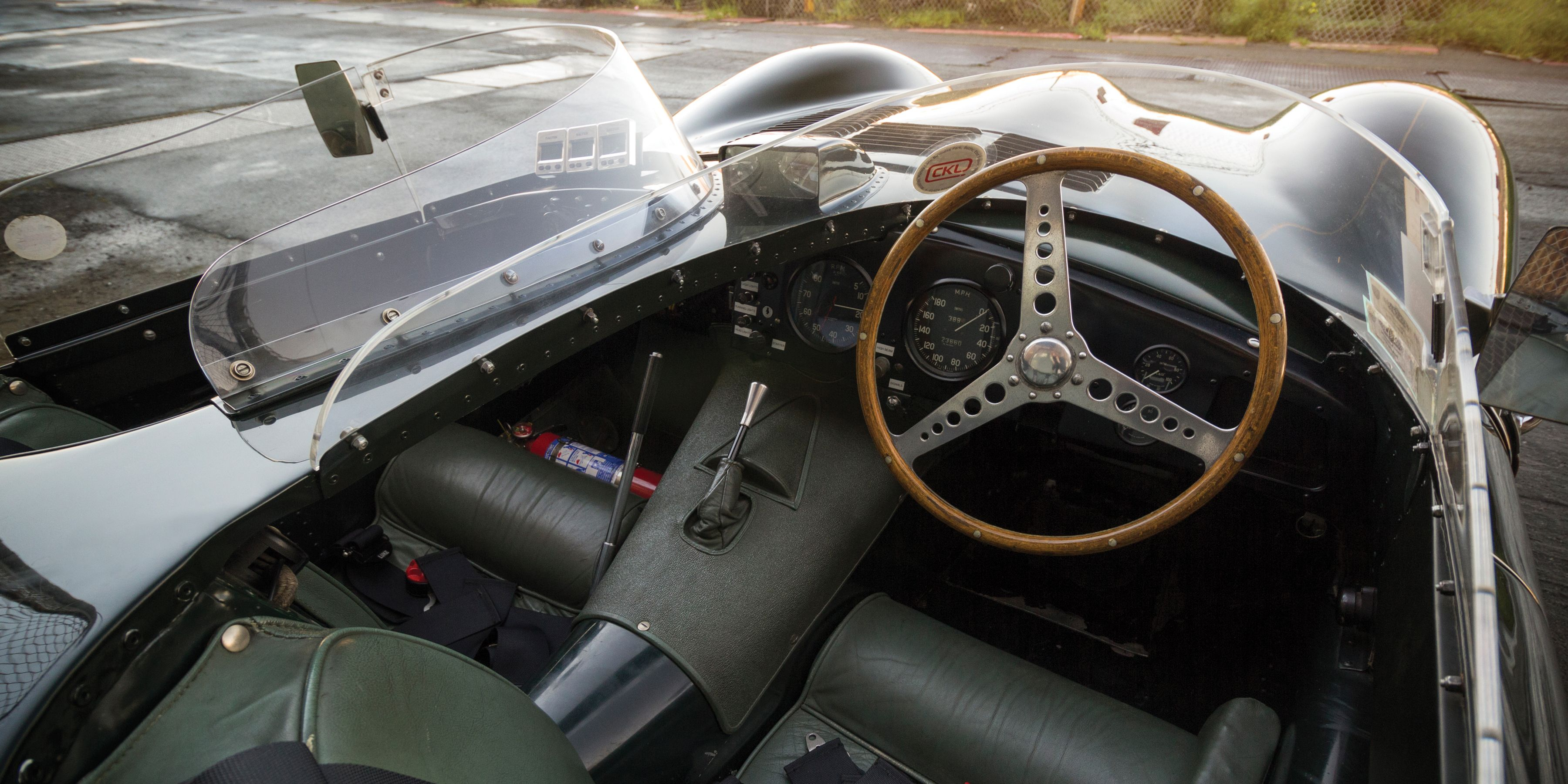In this car, it's claimed to make 300 hp with the help of triple Weber 45DCO3 carburetors. A four-speed 'box sends power back to a live axle.   - PopularMechanics.com