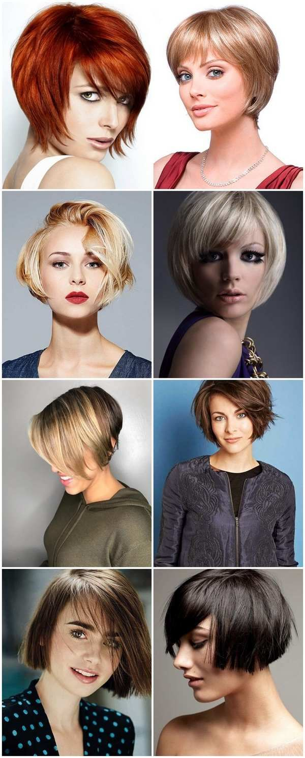 Short Bob Haircuts With Different Types Of Bangs Hairstyle Style