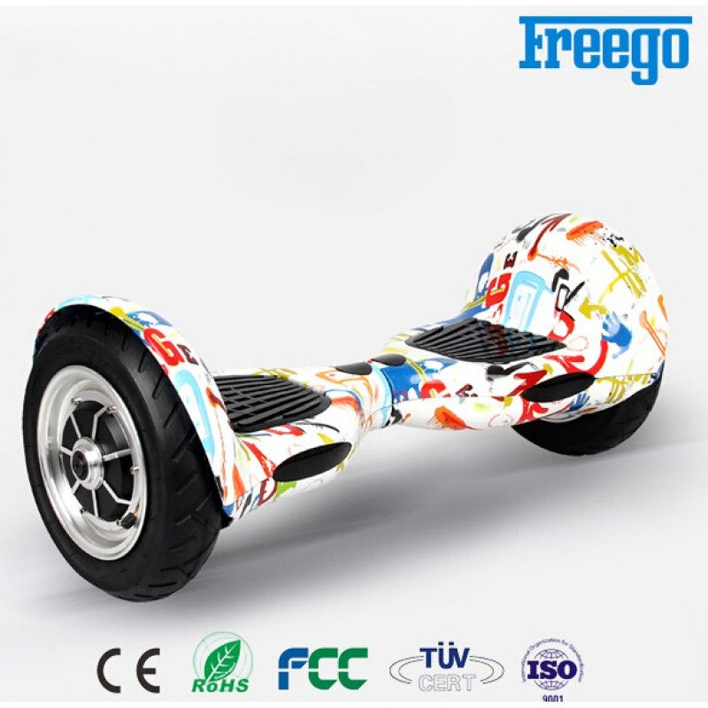 Freego 10 Inch W3 Self Balancing Scooter With Bluetooth And Remote