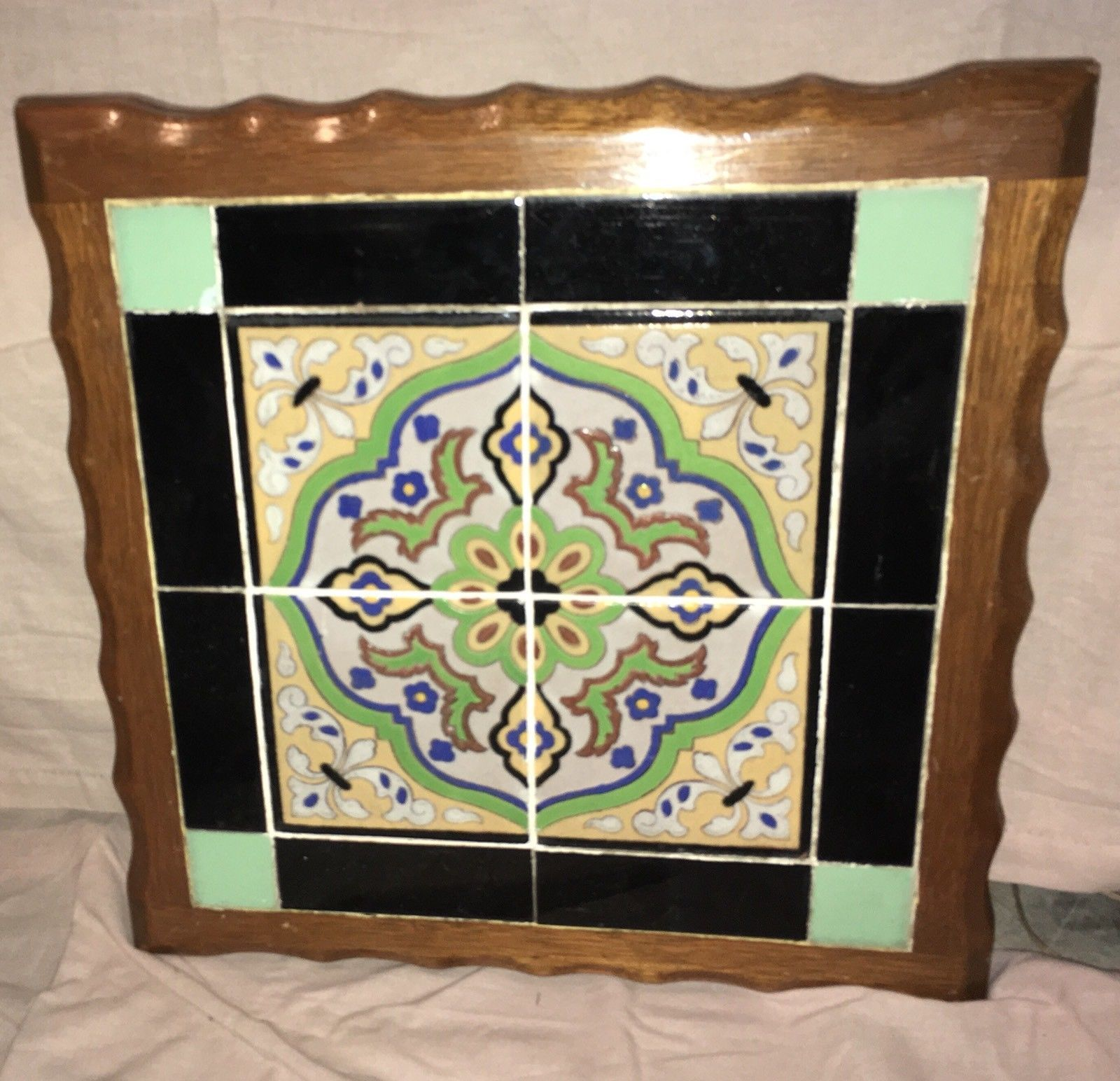 vintage California tile Tables Monterey Furniture
