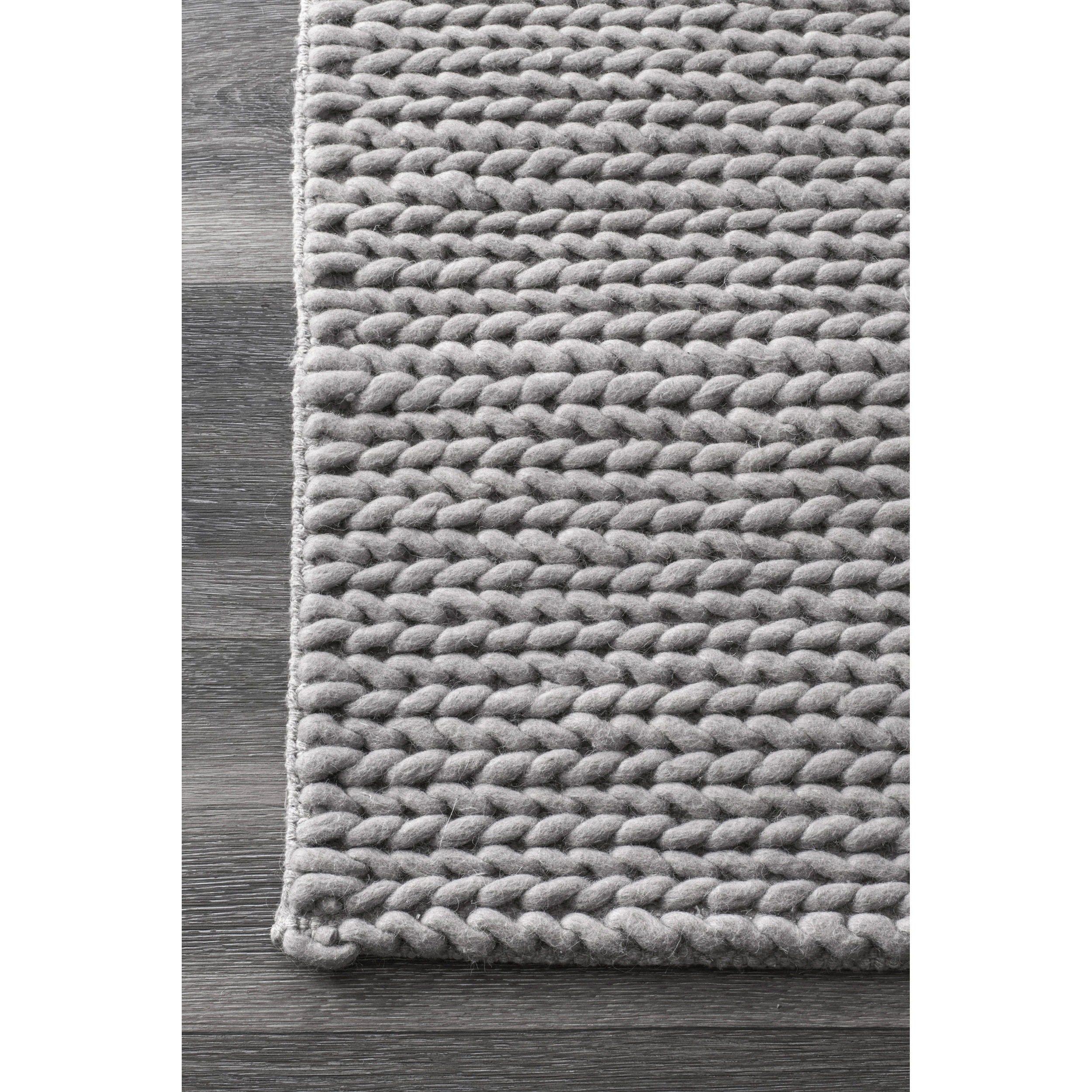 Gray Braided Rug Rugs Ideas