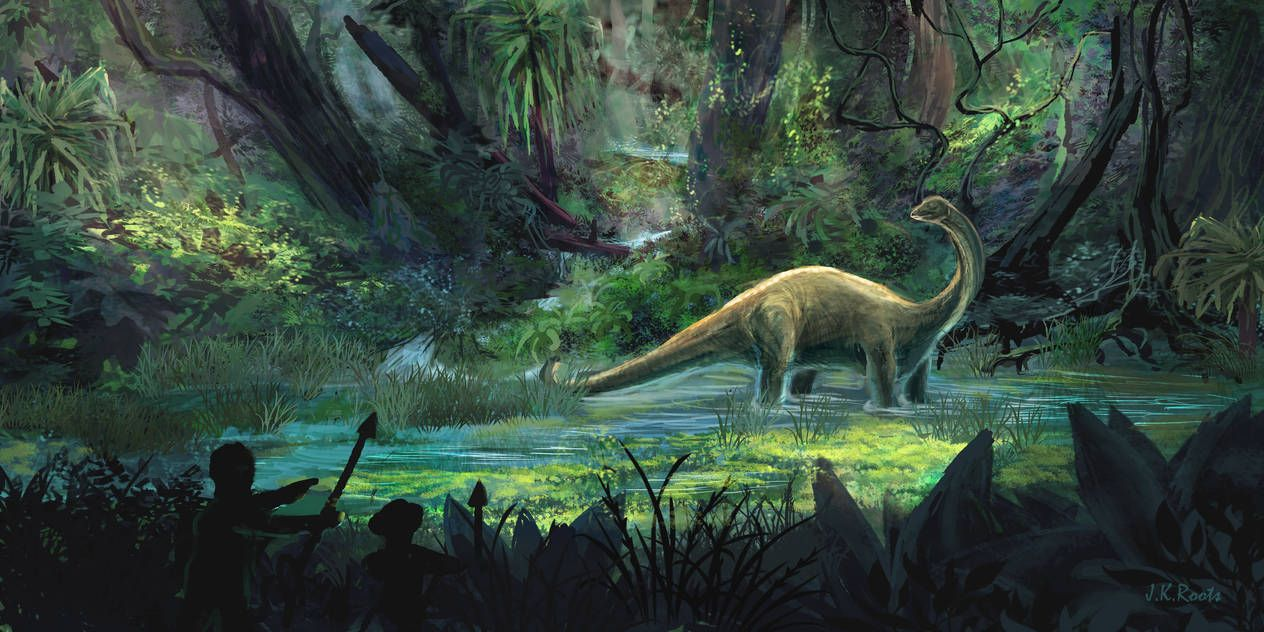 Mokele Mbembe by Johannes Roots | Shadows of Cameroon in 2019