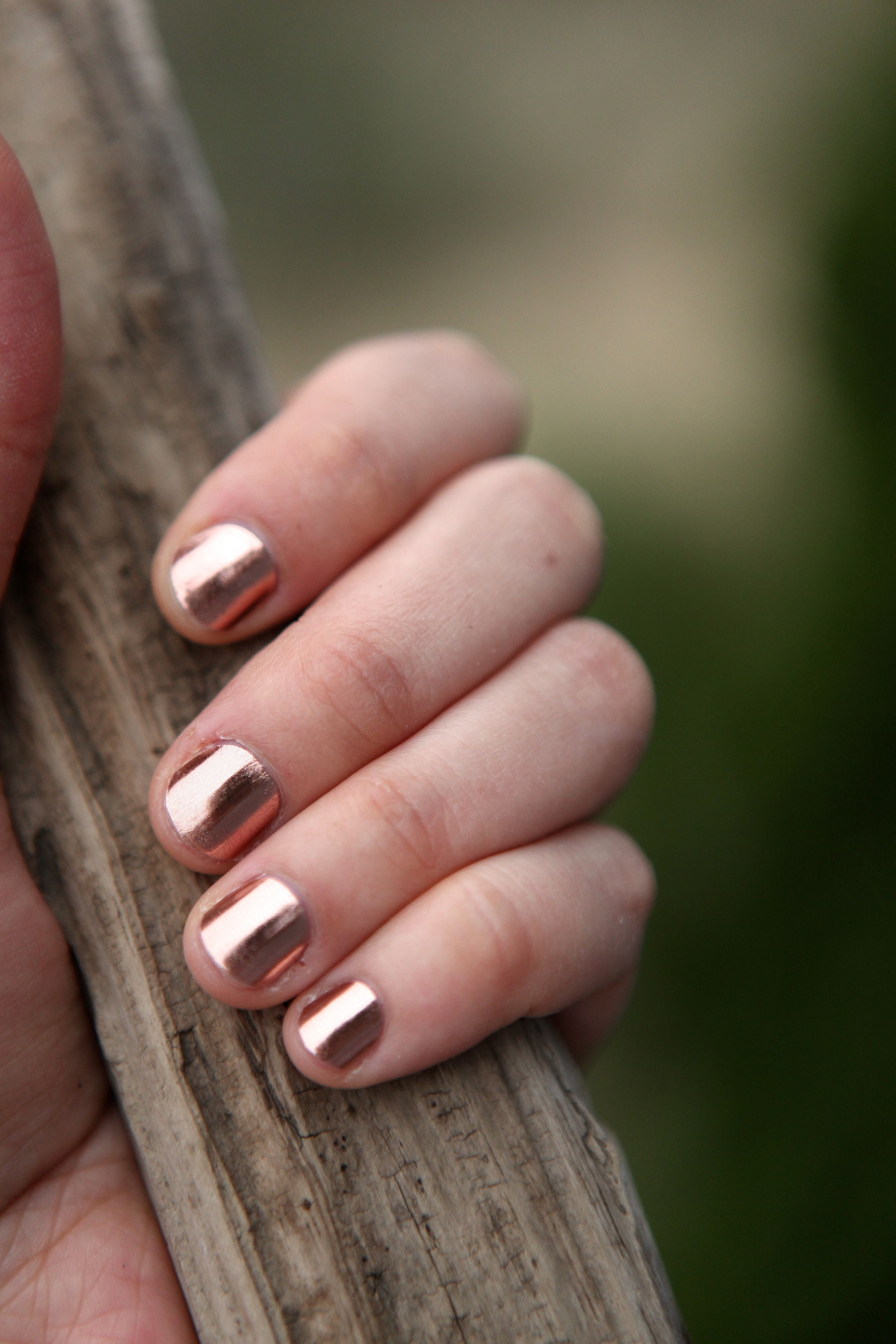 rose gold nails metallic you can wear these fun nail
