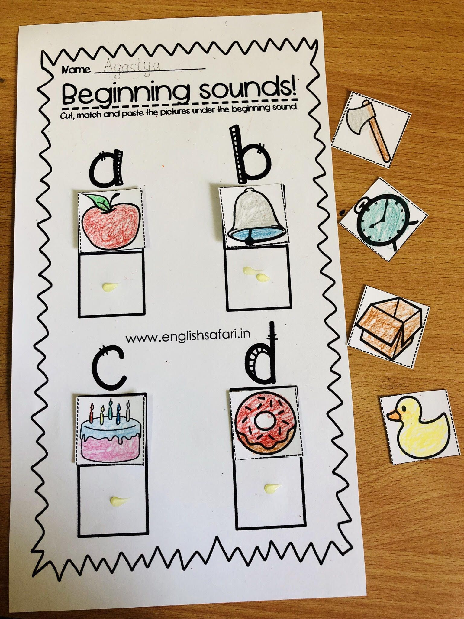 Free Phonics Beginning Sounds Worksheets Englishsafari