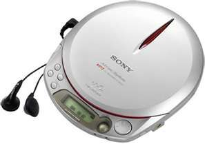 Sony walkman CD player, took mine everywhere.