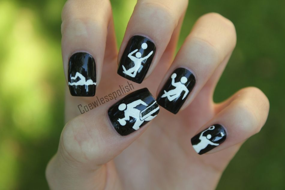 Olympic Nails...cool
